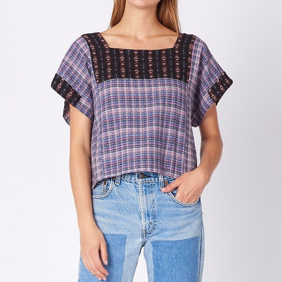 Ace & Jig Prudence Top in Thistle sz Small
